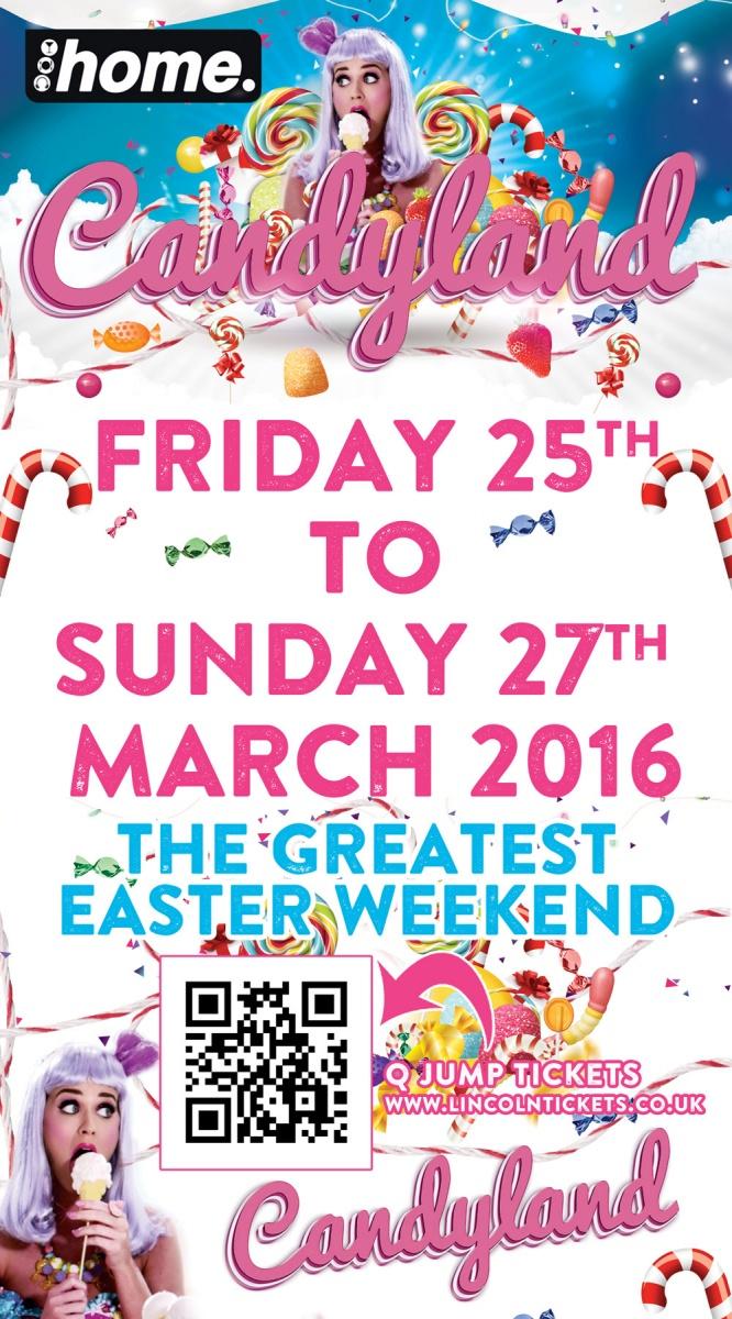Candyland Easter Saturdays Special