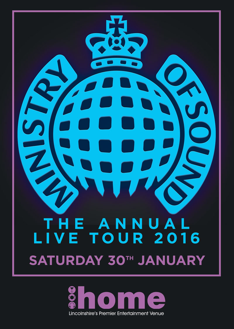 Ministry Of Sound The Annual Tour 2016