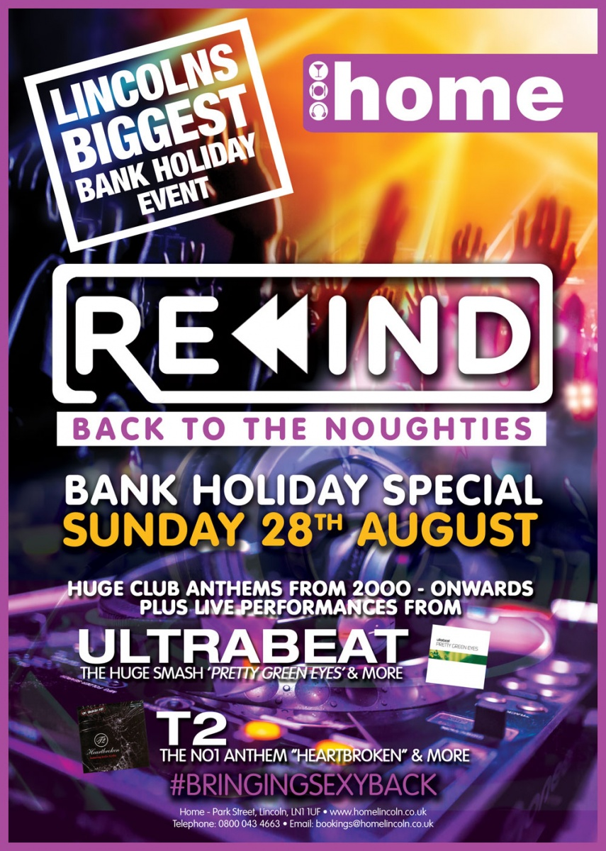 Rewind - Back To The Noughties Bank Holiday Special