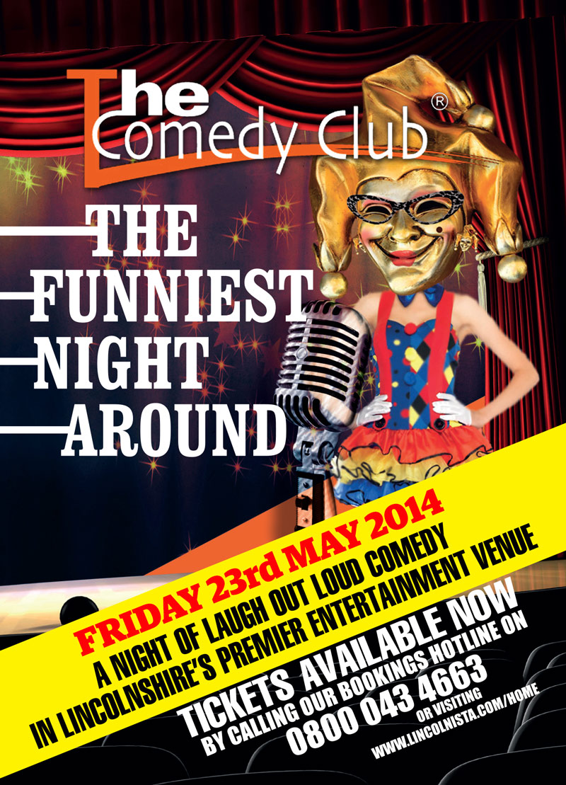 Lincoln Comedy Club (May 2014)