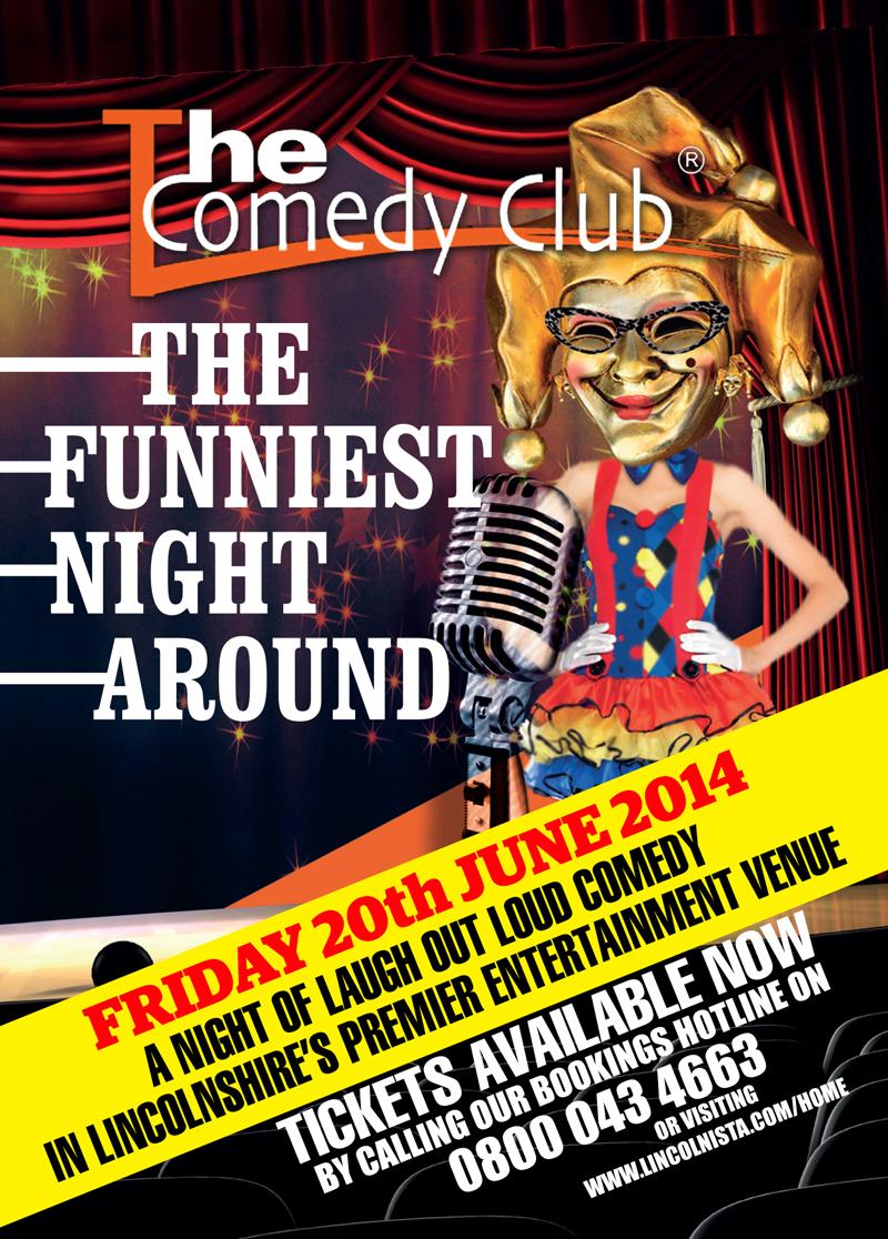 Lincoln Comedy Club (June 2014)