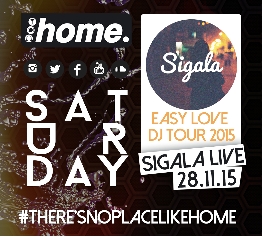 Essential Saturday With Sigala
