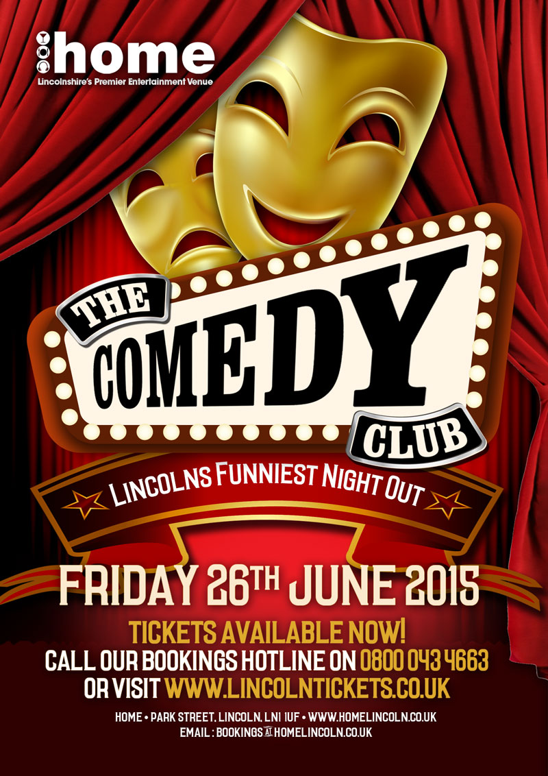 Lincoln's Comedy Club (JULY 2015)