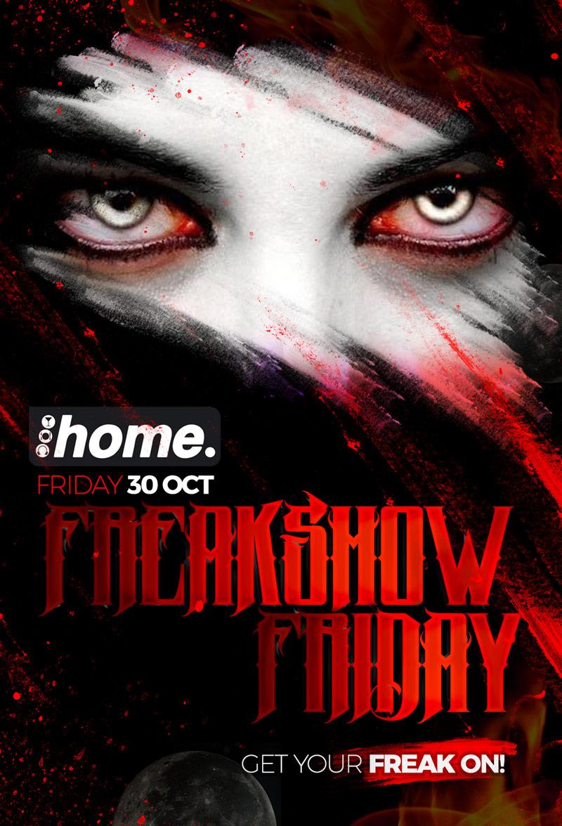 Halloween Freak-show Friday