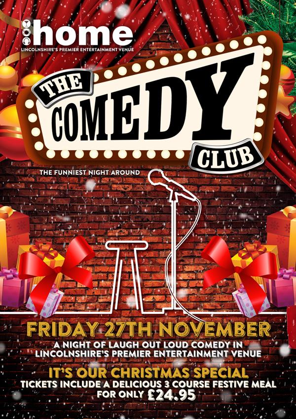 Lincoln's Festive Comedy Club (November 2015)
