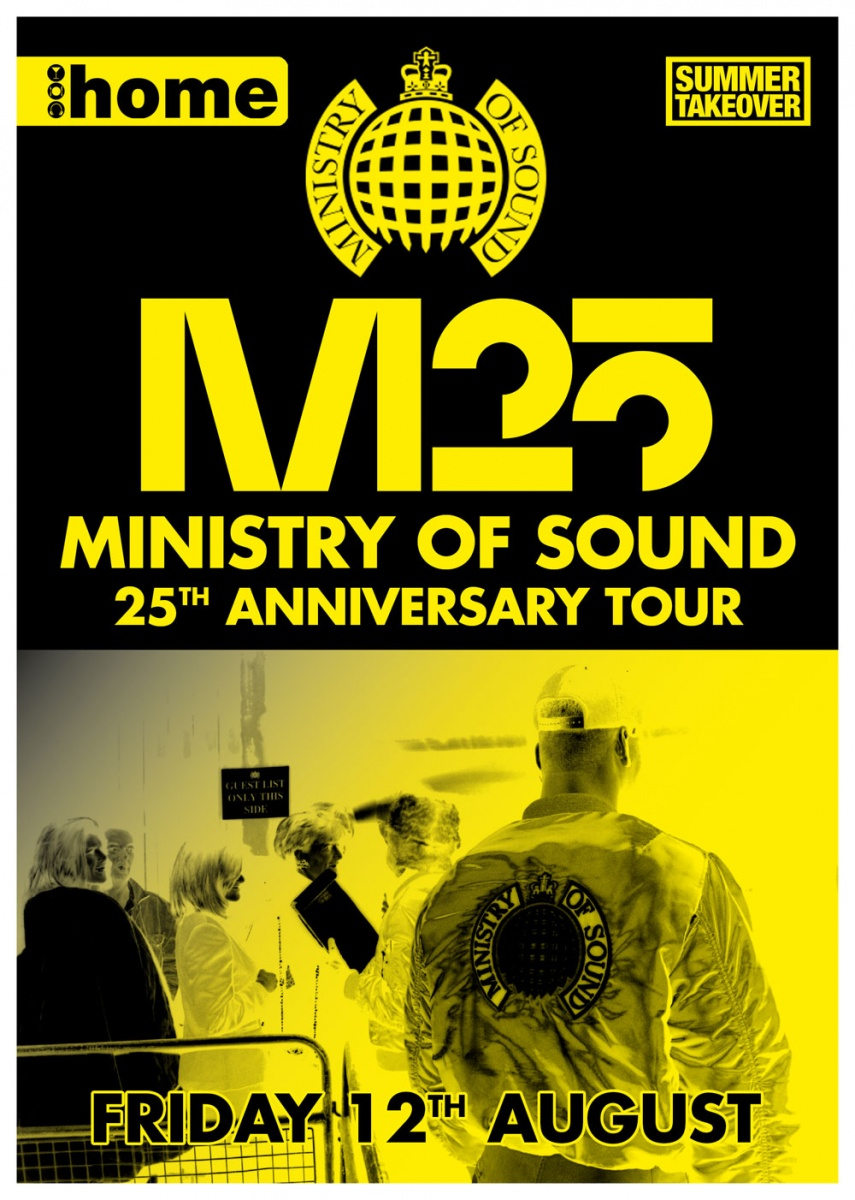 Ministry Of Sound 25 Tour